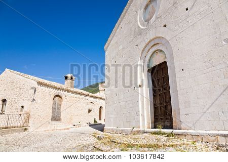 Church, Campello Clitunno, Italy