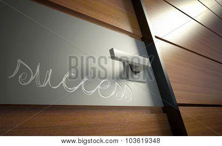 Door To Career. Opportunity For Success In Business