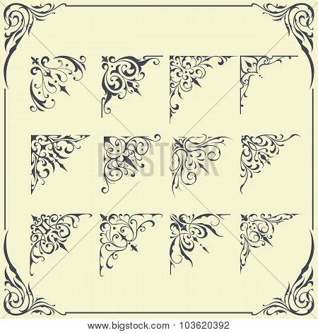 Corner Frame Ornament