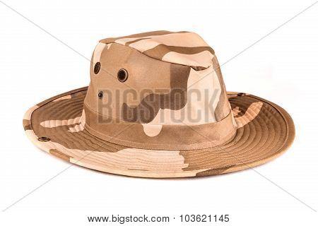 Camouflaged Safari Hat