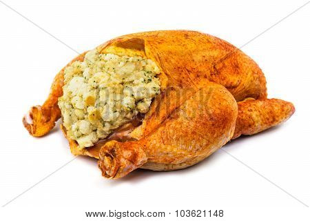 Prepared Chicken For Cooking