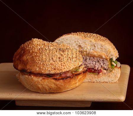 Cut Burger