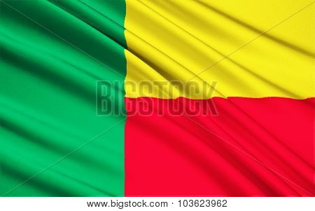 Flag Of Benin - Africa