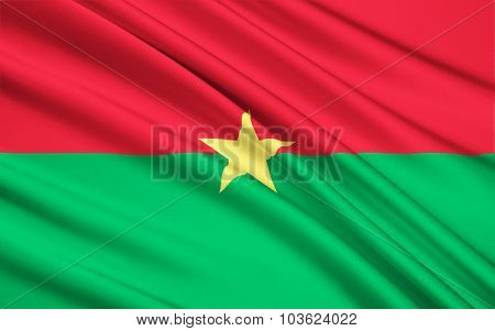 Flag Of Burkina Faso, Ouagadougou