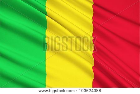 Flag Of Mali, Bamako