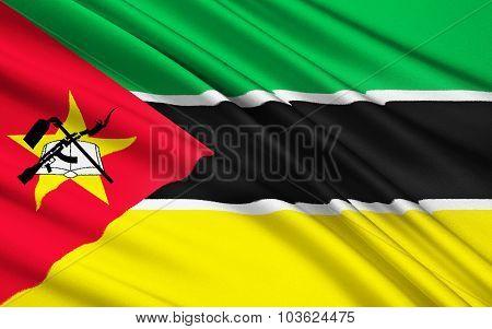 Flag Of Mozambique, Maputo