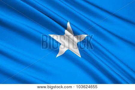 Flag Of Somalia, Mogadishu