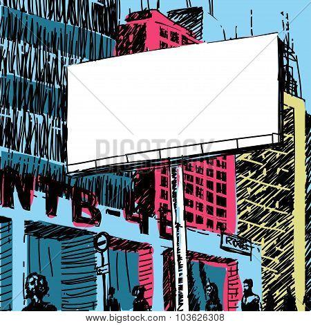 Vector Sketch City