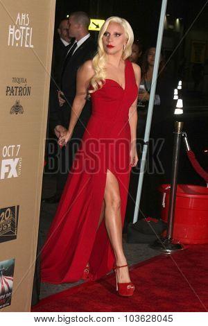LOS ANGELES - OCT 3:  Lady Gaga at the