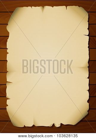 Vintage Paper Background On Boards