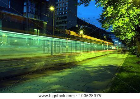 The Light Rail Train