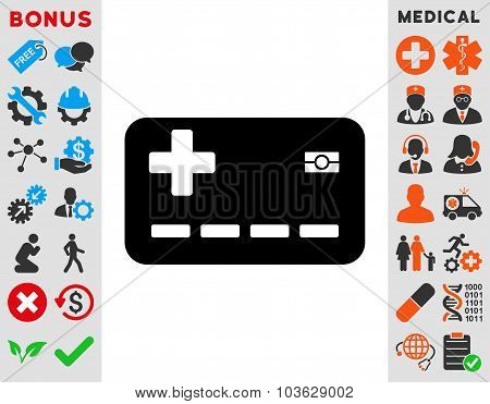 Medical Insurance Card Icon