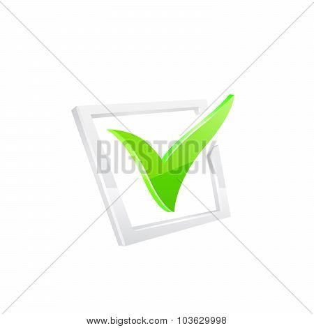 Vector green checkmark