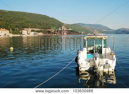 Boat In Bakar Harbour