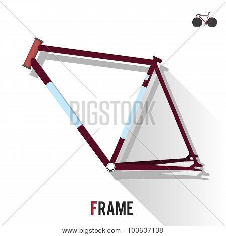 Fixed Gear Bike Frame