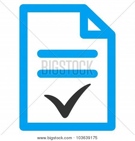 Valid Document Icon