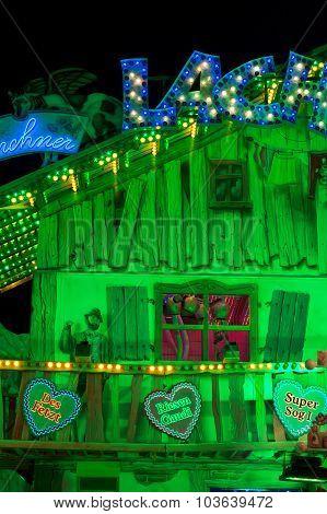 Entertainment Decoration At The Oktoberfest