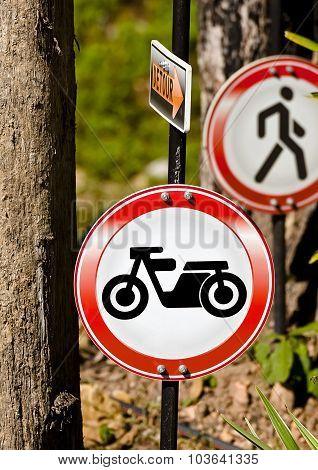 Motor Traffic Sign