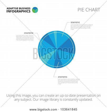 Pie chart template 2