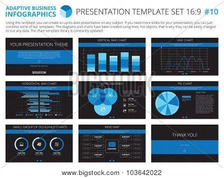 Presentation template set 10