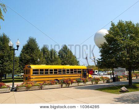 School Yellow Bus