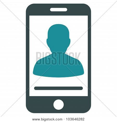 Mobile Contact Icon