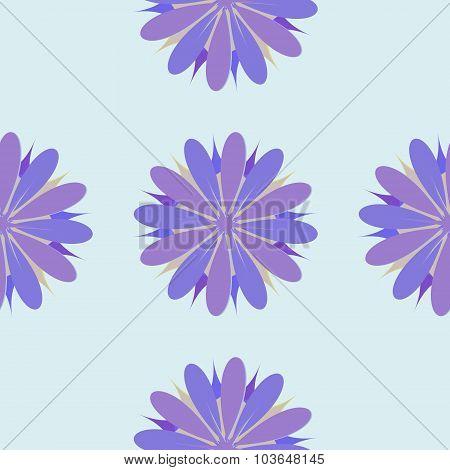 Flower Seamless Pattern Illustration  Decorative, Design, Element