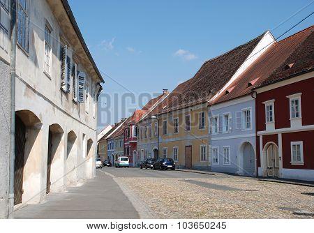 Street In Bad Radkersburg