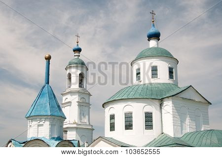 Church Of The Presentation In The Temple Of Mother Of God In Spirovo