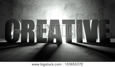 Creative Word With Shadow, Background