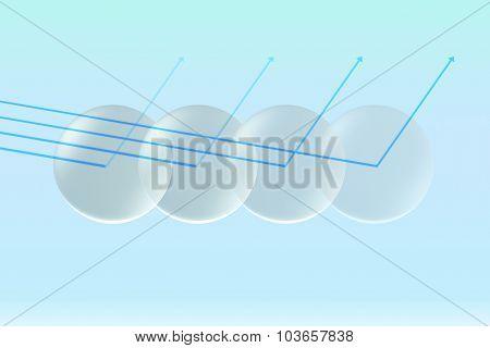 Glass Lens Opacity Uv With Arrow
