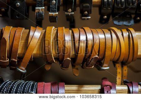Leather Handcrafts Bracelets