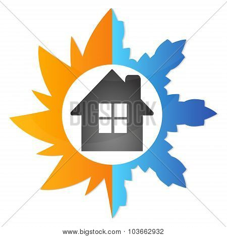 Air conditioning house