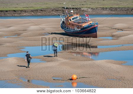 Beached Lifeboat