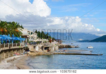 Quay In Herceg Novi, Montenegro