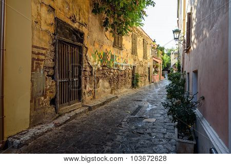 old historical neighbourhood of Athens