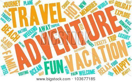 Adventure Word Cloud