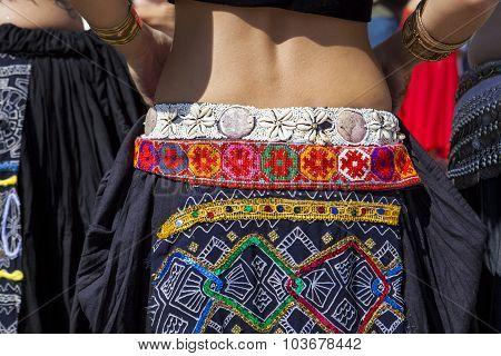Details Of Belly Dancer Skirt