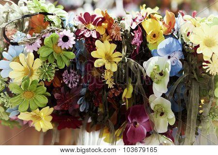 Vintage Flowers Tiara