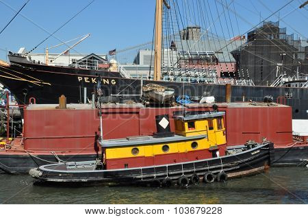 South Street Seaport in Manhattan, New York