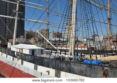The Wavertree at South Street Seaport in New York