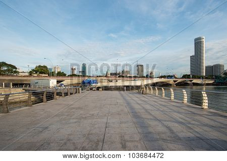 Singapore cityscape view