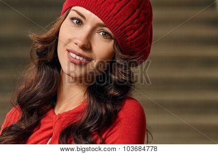 portrait woman close