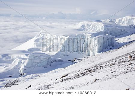 Summit Of Kilimanjaro, Southern Icefield