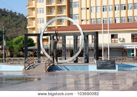 Atataturk monument.