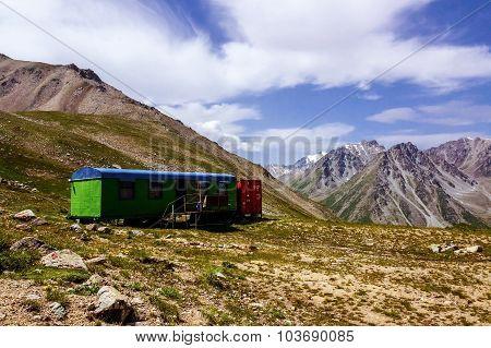 Wagon house in Almaty mountains