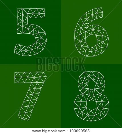 Polygonal Numbers 5-8