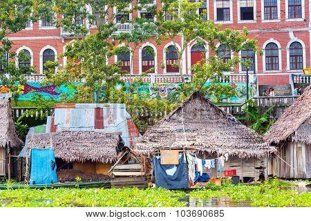 Iquitos, Peru Riverfront