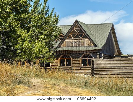 Rural Wooden House