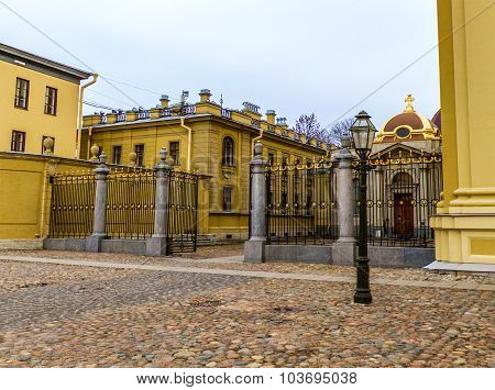 Architecture Of St. Petersburg